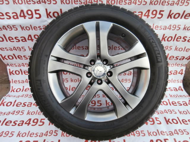 Комплект бу колёс Mercedes ML164 Michelin Latitude Alpin 255/50R19